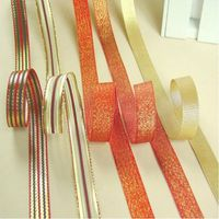 Colorful decoration metallic ribbon