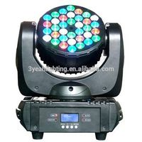 36PCS 3W RGBW Disco KTV Bar DJ Best Mini Beam LED Light Mini Beam LED Moving Head Light