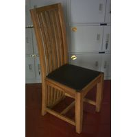 White Oak Dining Chair: wooden furniture, solid oak furniture, dining room furniture, wooden chair thumbnail image