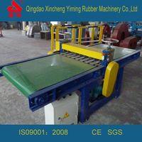 Multiple Rubber Strip Cutting Machine Rubber Infinite Slitting Machine Rubber Infinite Slitting Mach