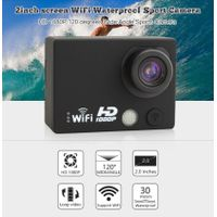 Full HD 1080p wifi remote 2inch screen cheap loop recording action camera
