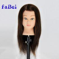 increasing market on good quality hot selling cheap hair mannequin head human hair thumbnail image