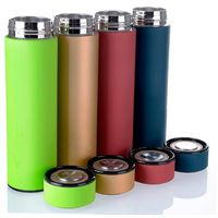 ZC-BB-T 17 oz Double Walled Vacuum Sealed Insulated Stainless Steel Water Bottle Vacuum Flask Travel