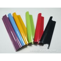 Colorful aluminum tile trim for ceramic installation