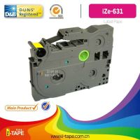 TZe-631(Length:10M)TZe tape for Brother P-touch label tape Printer