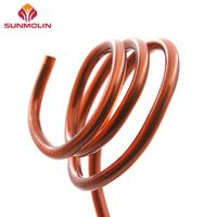 Plastic coated wire rope for shaping