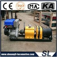 High Quality 5Ton Diesel/Gasoline Enginer Power Winch