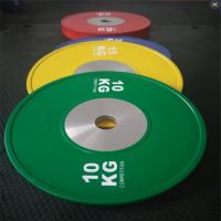 Custom Printed Weight Lifting Competition Bumper Plate
