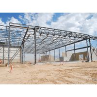 Prefabricated Light Steel Structure for Structural Fabrication Warehouse