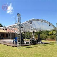 TUV cheap aluminum stage truss roof for event planner