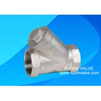 Y Strainer Filter NPT,BSPT PN16 PN40 800WOG stainless steel thumbnail image