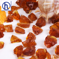 crushed glass bead for contruction and decoration
