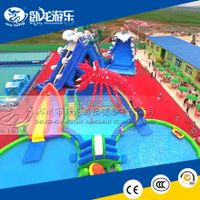big water slides, cheap inflatable water park for sale