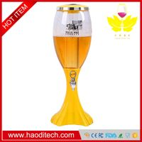 Easy Pour Party Tabletop Beer/Drinks Beverage Dispenser with Ice Core,LED