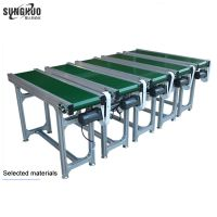 OEM cement inclined screw plastic inclined bucket portable scraper chain manual conveyors