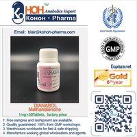 Dianabol Methandienone Danabol DBOL Tablet Steroids Powder