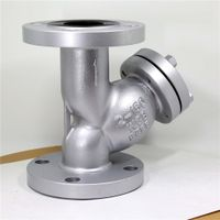 AMSE/ANSI Flange Ends Y Strainer for gas water oil thumbnail image