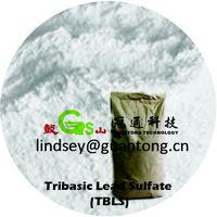 Single Heat PVC Stabilizer - Tribasic Lead Sulfate (TBLS) For PVC Plastics Products