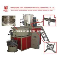 Heating and cooling mixer unit