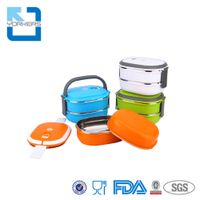 Stainless Steel Insulated Bento Thermal Lunch Box for Kids