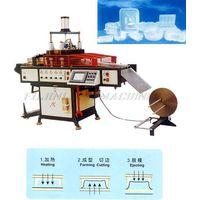 Automatic Plastic Air-Pressure Thermoforming Machine