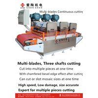 multi-blades tile cutting machine LJ-3 Three heads thumbnail image