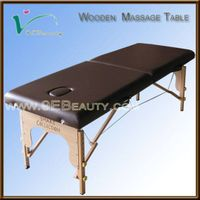 hotel outdoor wooden massage bed