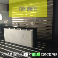 Can White Marble Slabs