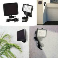 Solar Motion Sensor Light with 60LEDS