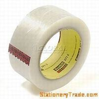 "3M 371 Carton sealing tape 2"" X 55 Yard, 1.9 Mil, Clear"