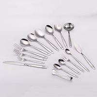 18/10 304 high quality stainless steel flatware set thumbnail image