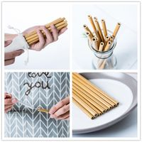 Eco friendly bamboo drinking straws wholesale