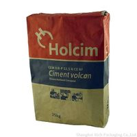 Cement Kraft Paper Bags With Valve thumbnail image