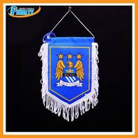 Home decorative soccer flags
