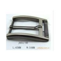 Metal decorate clip belt buckle