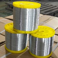 Low Carbon Steel Galvanized Spool Wire