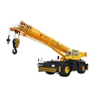 70T Rough terrain cranes