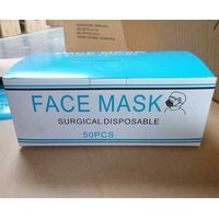 50 Disposable Face Masks Surgical Medical Dental Industrial Quality 3-Ply New