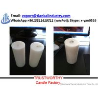 bulk sale white pillar candle for home and church use thumbnail image