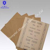Wood sand paper