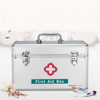 Small Size Aluminum First Aid Box with Security Lock B016-5 thumbnail image