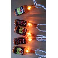 Jim Beam beer bottle string lights thumbnail image