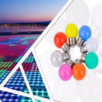mini led bulb 1w 0.5w, g45 led bulb for party bar wedding decoration