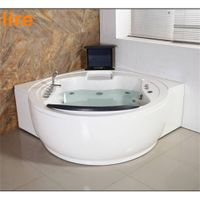 new design luxury whirlpool bathtub with tv