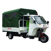 Bajaj Auto Rickshaw ambulance emergency motor tricycle BA250ZK-J