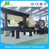 DESEN Machinery mobile jaw crusher thumbnail image