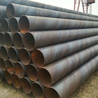 spiral submerged arc welded steel pipe for oil and gas field construction