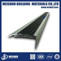Curved metal profile stair nosing safety stair treads with china supplier