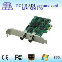 2015 SDI video capture card PCI-Express 1080P@ 60HZ 3G HD SD SDI Video Capture Card with looping SDI
