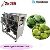 Industrial Broad Bean Skin Peeling Machine|Peas Peeler Machine Price